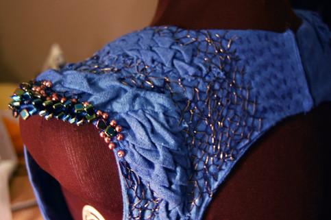 Up Close of GoT dress
