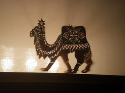 Karagoz Styled Camel Lit