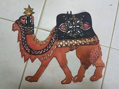 Karagoz (turkish) styled Camel