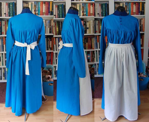 Cotton Dress and Apron