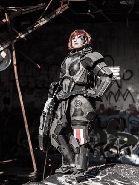 Cosplay - Commander Shepard