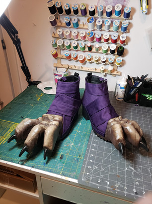 Xayah's Bird Feet