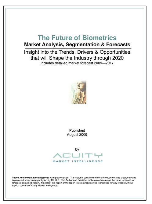 The Future of Biometrics (2009)