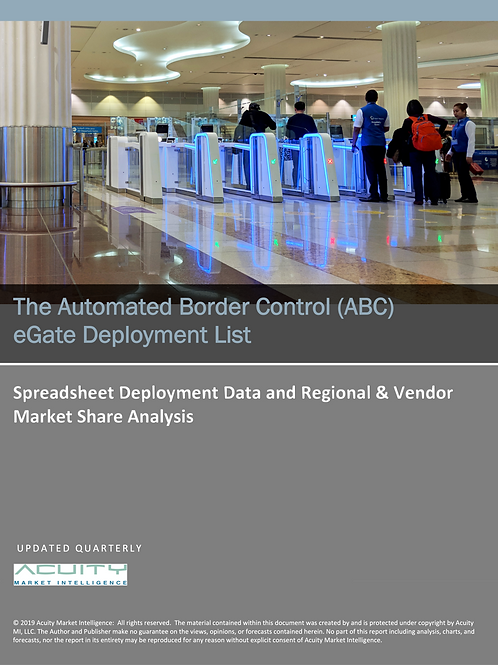 Automated Border Control (ABC) eGate Deployment List