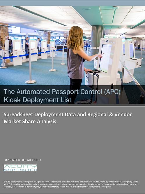 Automated Passport Control (APC) Kiosk Deployment List