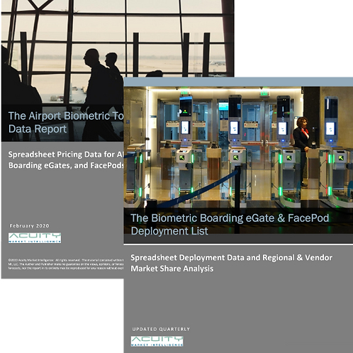 Biometric Boarding and Airport Touchpint Pricing Bundle