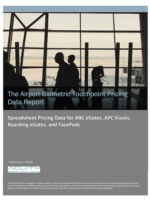The Airport Biometric Touchpoint Pricing Report