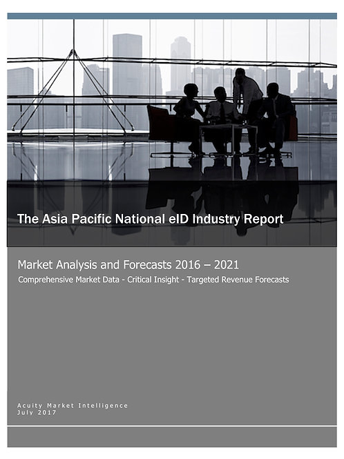 The Asia Pacific National eID Industry Report