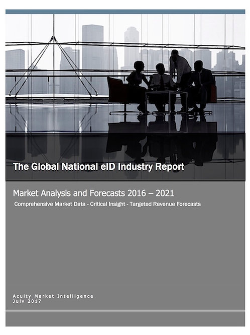 The Global National eID Industry Report & Forecast Data