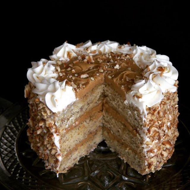 Celebration Ccake with pecan filling