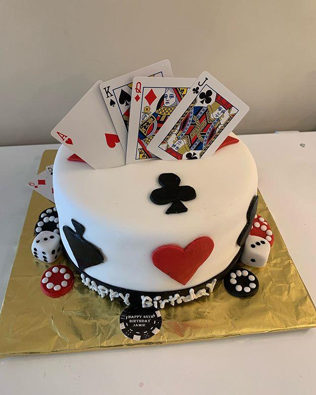 Card Deck/Poker Cake