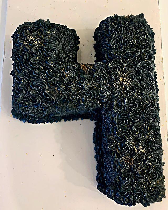 Number $ Rosette Cake