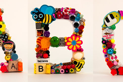 Toy Letters - A to Z (5 inch)