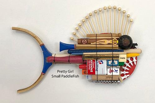 Pretty Girl, Small PaddleFish