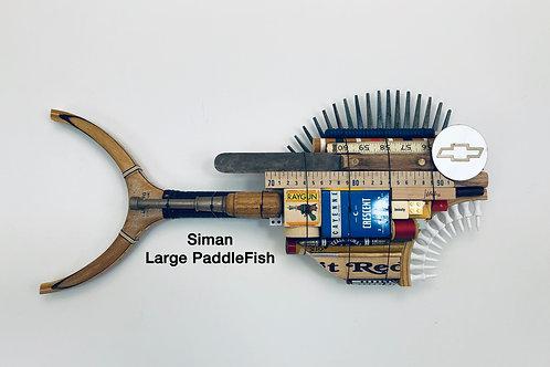 Siman, Large PaddleFish