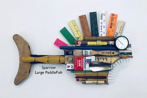 Sparrow, Large PaddleFish