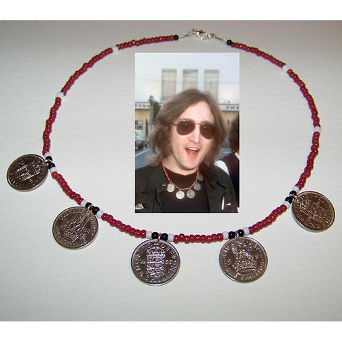 JOHN LENNON COIN NECKLACE