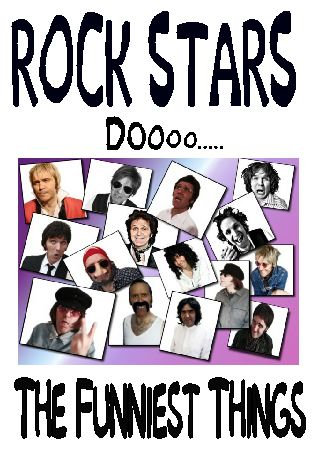 ROCK STARS DO THE FUNNIEST THINGS