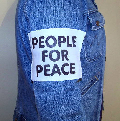 PEOPLE FOR PEACE ARMBAND