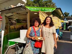 Au marché avec Suzan Lee de Rio