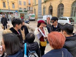 Visite commentée à Aix en provence avec des documents