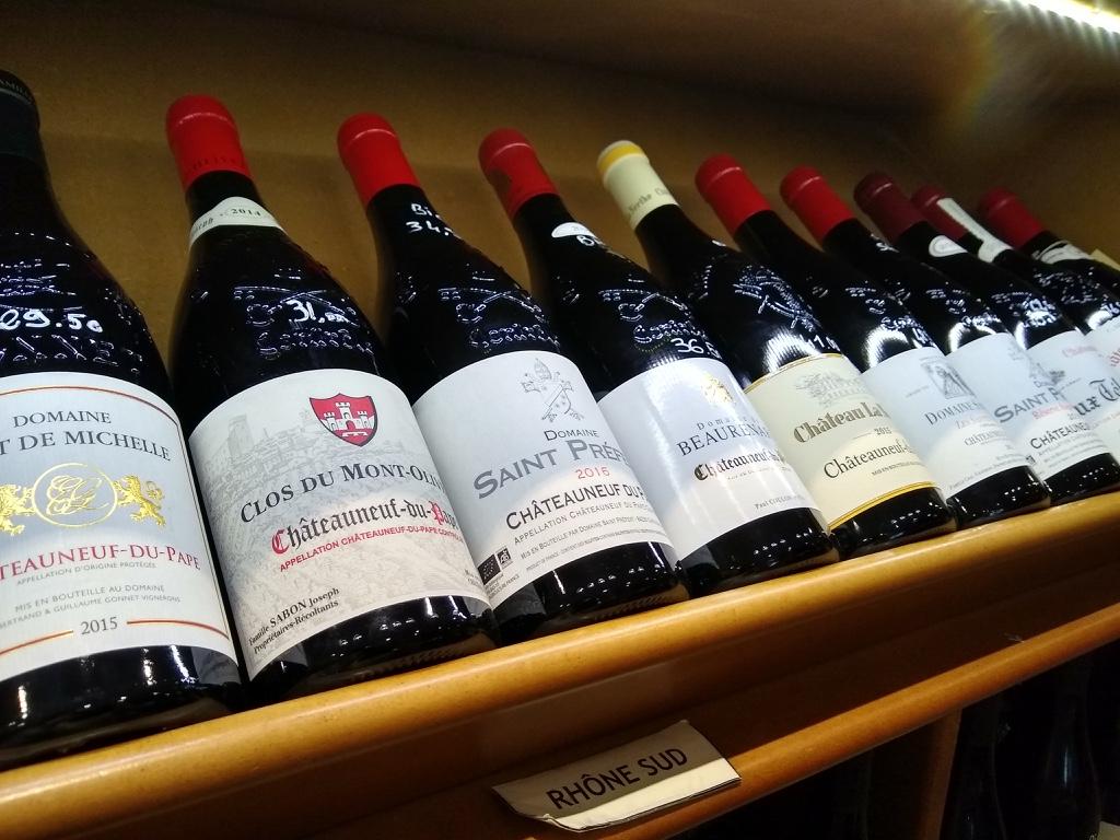 Châteauneuf du Pape et ses vins