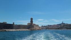 Marseille : MuCEM Fort St Jean, Notre Dame de la Garde