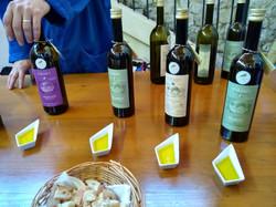Huiles d'olive/Olive oil tastings
