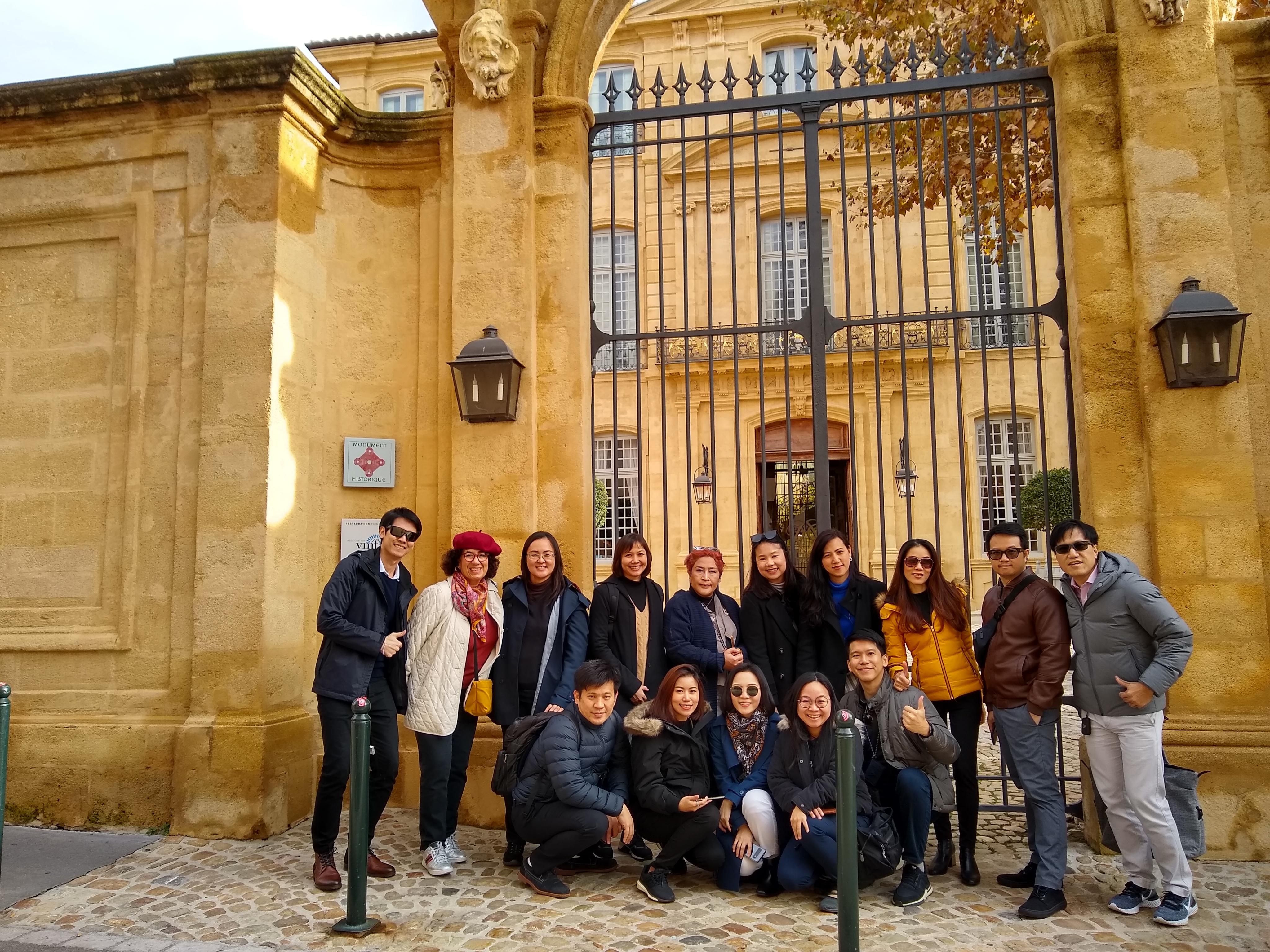 Visites guidées d'Aix avec des groupes