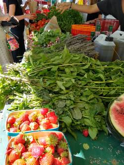 Marché bio Paysans locauxOrganic market with local producers