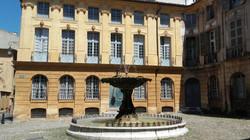Aix en Provence - Place d'Albertas
