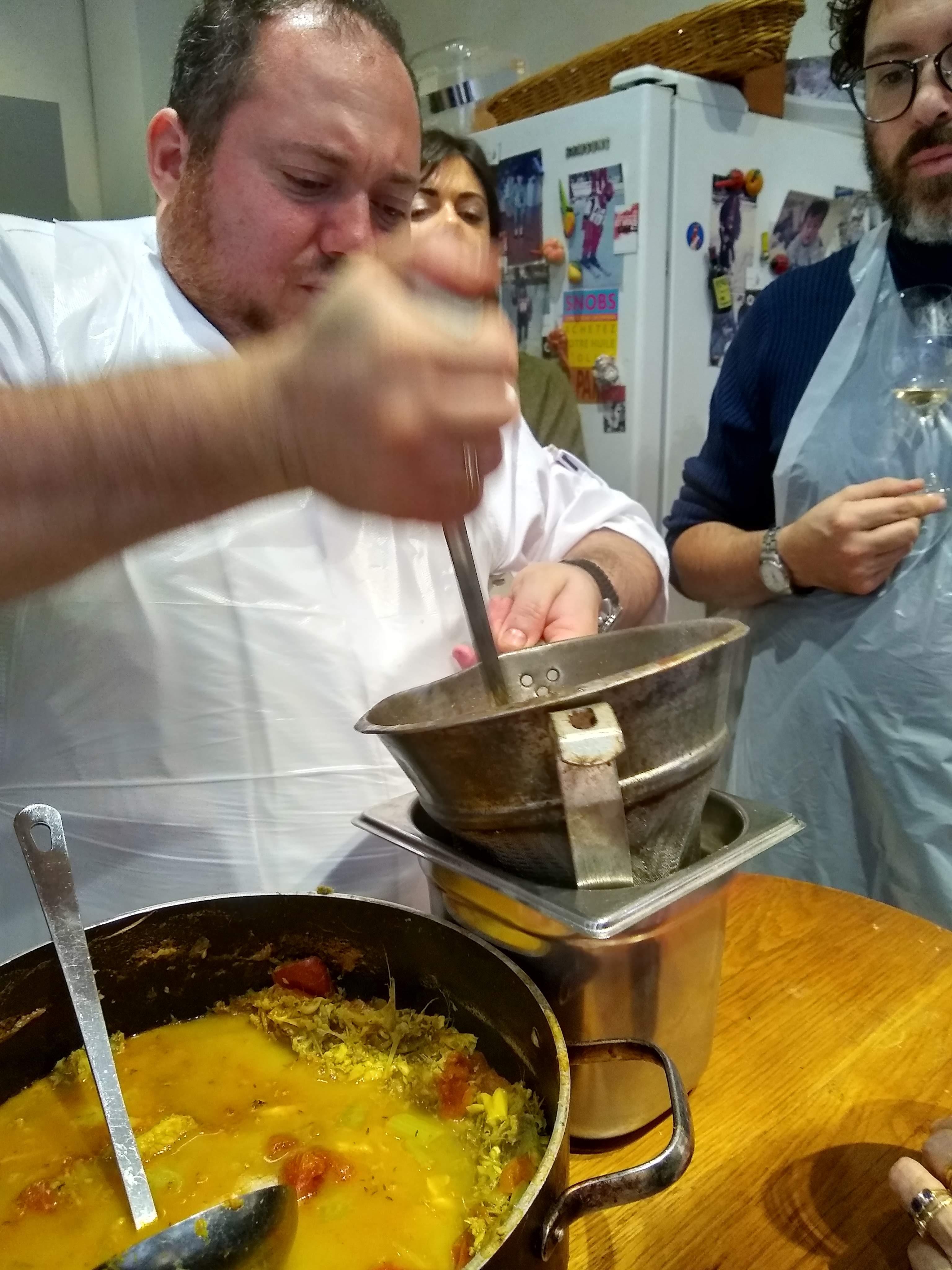 Pour passer la soupe
