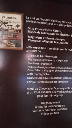 Exposition Cacao Madagascar