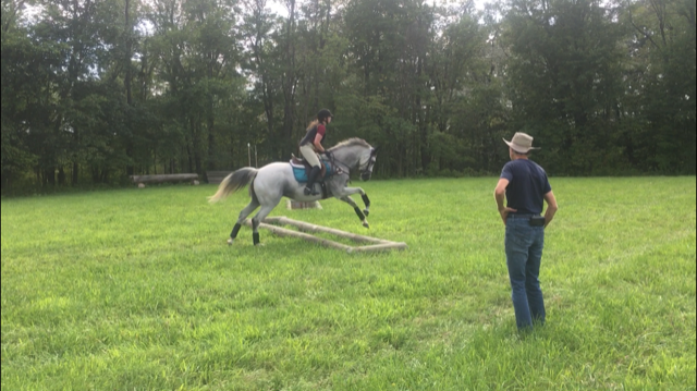 XC Schooling with Margie