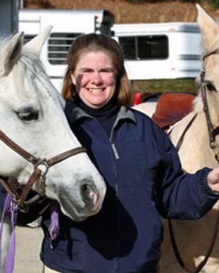 Linda and ponies.jpg