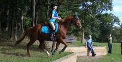 Pony Club clinic with Margie