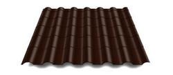 Крона RAL 8017(шоколадно-коричневый)