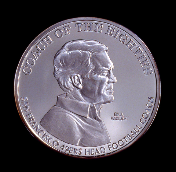 Bill Walsh Commemorative Coin