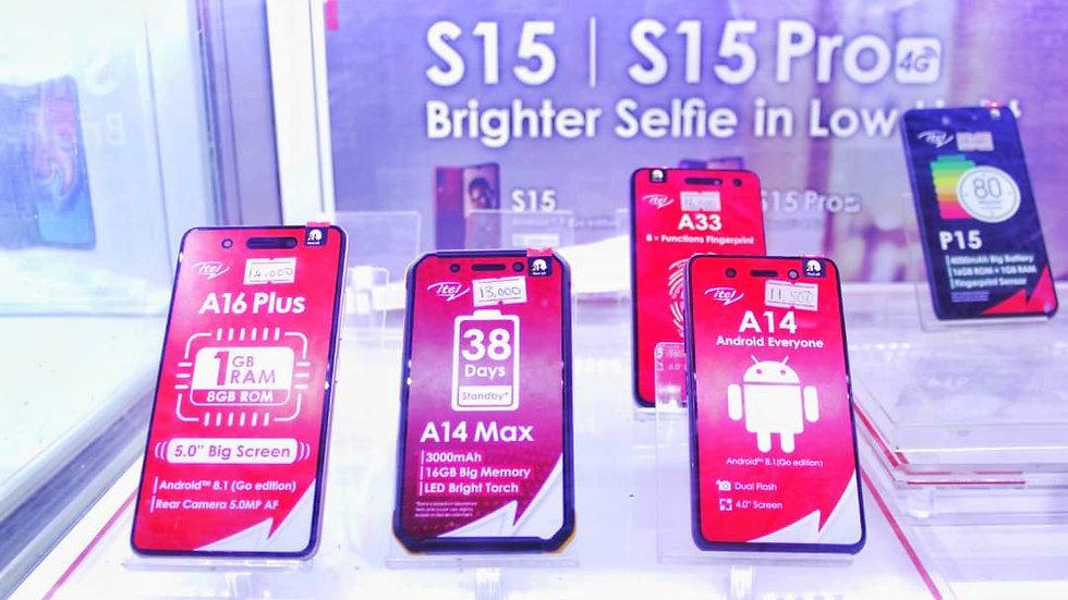 All itel Phones