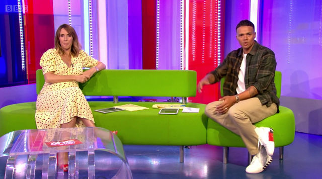 James on The One Show - expert advice for sleeping in the heat!