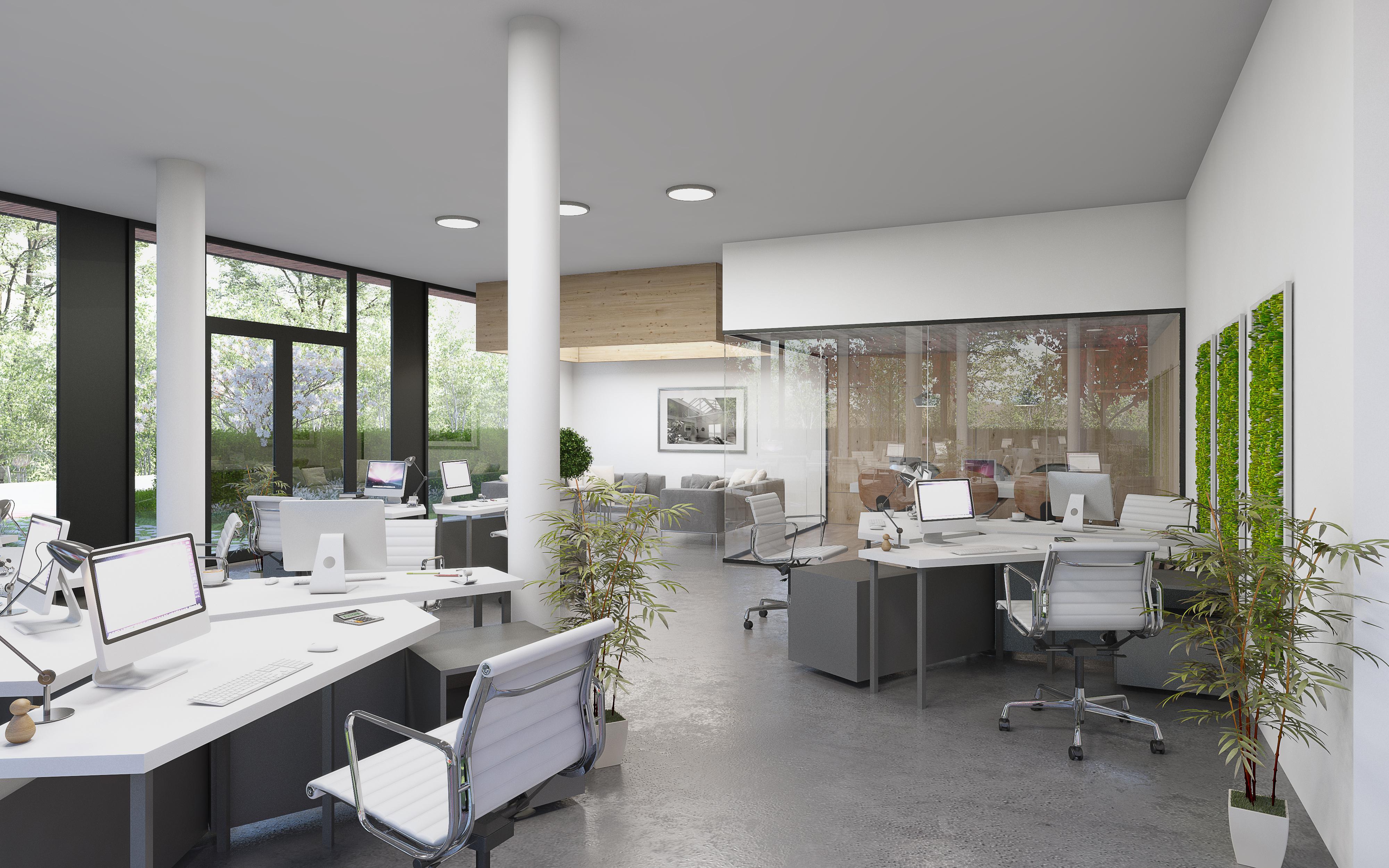 interieur kantoor Beringen