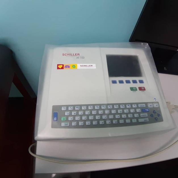 brand new Schiller ECG Machine
