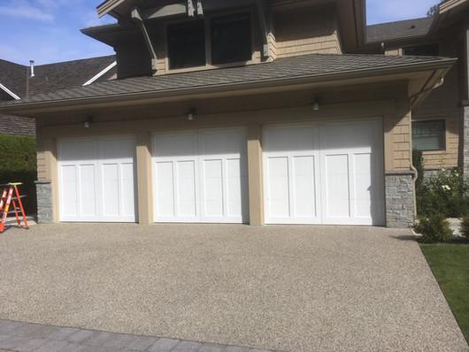BEFORE: Garage door