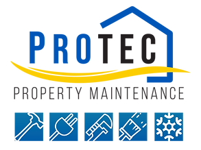 Protec - Property Maintenance Logo - Plu