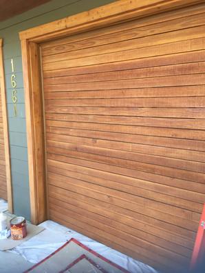 AFTER: Garage door