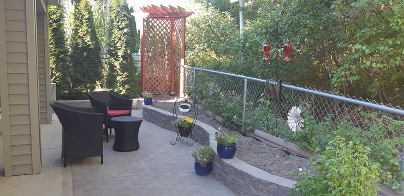 FINISHED: Backyard patio and garden