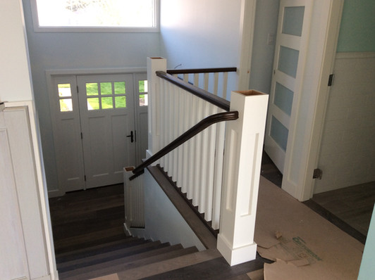 AFTER: Stair railing