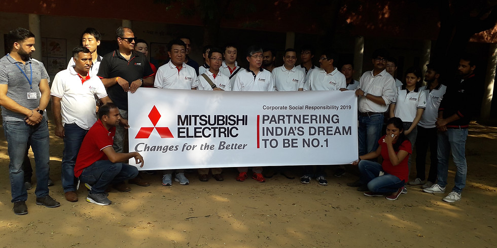 CSR Activity Clean Water Event by Mitsubishi Electric