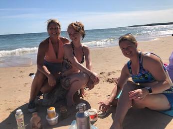Organic Spa day at the Beach Rock Island