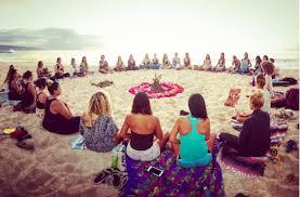 Moon Circle ceremony